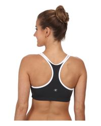Champion - Black Shape® T-back Sports Bra - Lyst