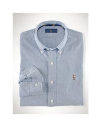 Polo Ralph Lauren | Blue Sports Shirt for Men | Lyst