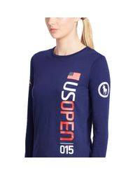 Ralph Lauren - Blue Us Open Long-sleeved Tee - Lyst
