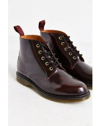 Dr. Martens | Purple Emmeline 5-eye Boot | Lyst