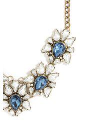 BaubleBar - Blue Sapphire Petal Collar - Lyst