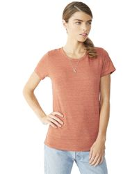 Alternative Apparel - Red Ideal Eco-jersey T-shirt - Lyst