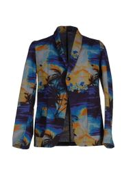 Bevilacqua | Blue Blazer for Men | Lyst
