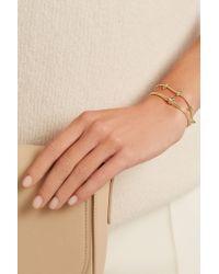 Jemma Wynne - Metallic Revival 18-karat Gold Diamond Bracelet - Lyst
