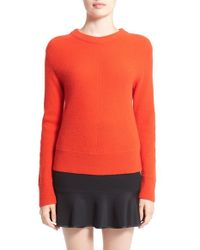 Rag & Bone | Red 'alexis' Cashmere Sweater | Lyst