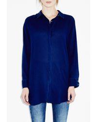 M.i.h Jeans - Blue Oversize Shirt - Lyst