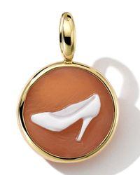 Ippolita | Metallic 18k Gold Round Pump Shoe Cameo Charm | Lyst