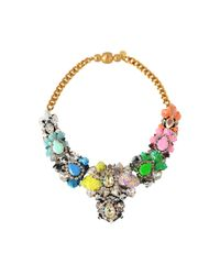 Shourouk - Metallic Exclusive Apolonia Sequins Necklace - Lyst