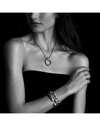 David Yurman | Metallic Waverly Bracelet With Gold, 5mm | Lyst