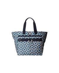 Brighton - Blue Octavia Lock-it Super Tote - Lyst