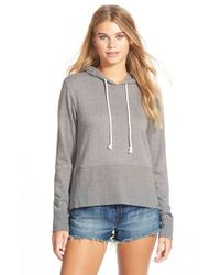 Volcom | Gray 'sleeper' Pullover Hoodie | Lyst