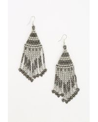 Urban Outfitters - Metallic Beaded Duster Earring - Lyst