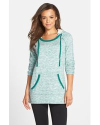 Marc New York | Blue By Andrew Marc Hooded Tunic | Lyst