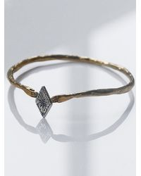 Free People - Metallic Datter Industries Womens Starry Diamond Cuff - Lyst
