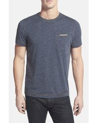 Jeremiah | Black 'Peyton' Slubbed Jersey Pocket T-Shirt for Men | Lyst