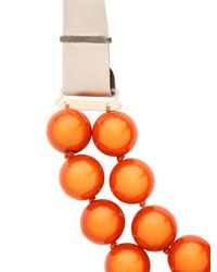 Lucia Odescalchi | Orange Euclide Necklace | Lyst