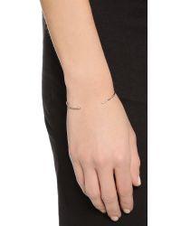 Shashi | Metallic Ava Cuff Bracelet - Gold | Lyst