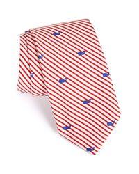 Vineyard Vines - Red Whale Print Silk Tie for Men - Lyst