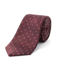 Racing Green - Purple Madox Flower Design Tie for Men - Lyst