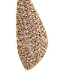 Elise Dray - Metallic Diamond & Yellow-Gold Pétales Earrings - Lyst