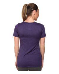 Nike - Blue V-neck Legend Short-sleeve Tee 2.0 - Lyst