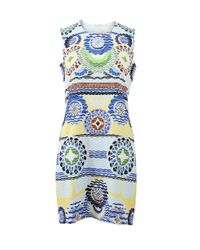 Peter Pilotto | White Stamp Dress | Lyst