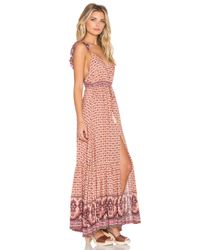 Spell & The Gypsy Collective - Pink Sunset Road Maxi Dress - Lyst