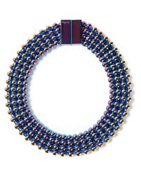 Bex Rox - Blue Frida Collar Necklace - Lyst