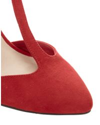 ASOS Red Asos Pivotal Wedges