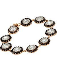 Irene Neuwirth - Black Circle-link Bracelet - Lyst