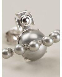 Vivienne Westwood - Metallic Pearl Orb Earrings - Lyst