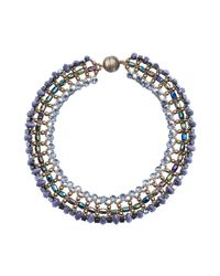 Tataborello | Purple Necklace | Lyst