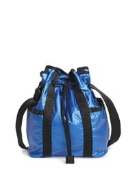 LeSportsac | Blue Nylon Bucket Bag | Lyst