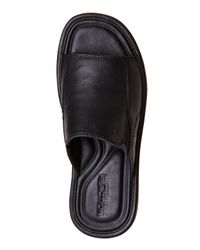 Kenneth Cole Reaction - Black Day Dreaming Sandals for Men - Lyst