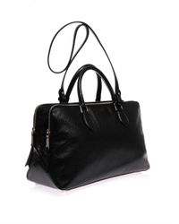 Rochas - Black Late Doublezip Leather Bag - Lyst