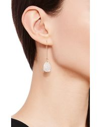 Efva Attling - Metallic One Of A Kind Rose Petal & Stars Earrings - Lyst
