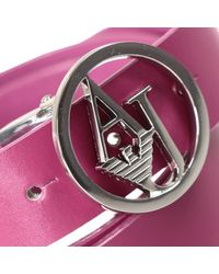 Armani Jeans | Purple Giorgio Armani Women's Belt | Lyst