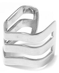 Maria Black | Metallic Silver Trinity Ear Cuff | Lyst