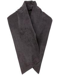 Haider Ackermann - Black Buttoned Scarf for Men - Lyst