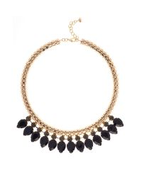 Ted Baker | Green Emari Pear Drop Necklace | Lyst
