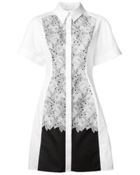 Peter Pilotto | White Cate Shirt Dress | Lyst