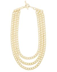 Henri Bendel | Metallic Hudson Triple Neck | Lyst
