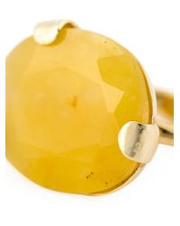 Wouters & Hendrix - Metallic Yellow Jade Ring - Lyst