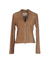 Vintage De Luxe | Natural Jacket | Lyst