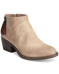 BC Footwear | Brown Bc Union Booties | Lyst