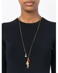 Isabel Marant | Metallic Fish Pendant Necklace | Lyst