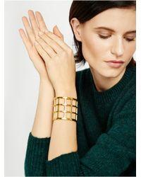 BaubleBar - Metallic Athena Grid Cuff - Lyst