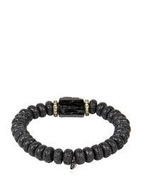 Ocnarf Sairutsa - Blue Rock And Raw Bracelet for Men - Lyst