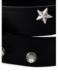Lanvin | Black Star Bracelet | Lyst