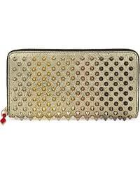 Christian Louboutin | Metallic Panettone Wallet | Lyst